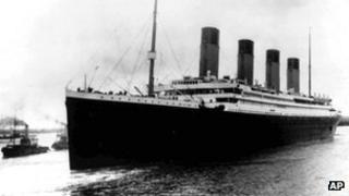 Titanic maiden voyage