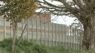 Warren Hill young offenders prison, Suffolk