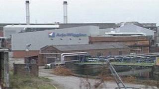 Ely Bridge paper mill, in 1998