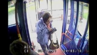 Suzanne Pilley's final bus journey was caught on CCTV