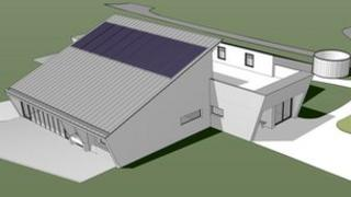 The proposed Belfairs Woodland Centre