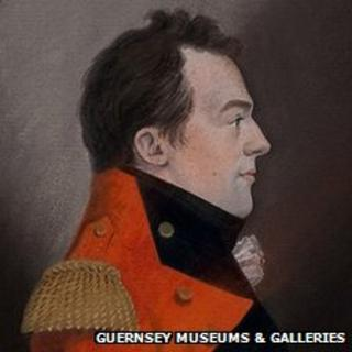 Portrait of Sir Isaac Brock