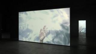 Douglas Gordon's K364 courtesy of Gagosian Gallery. Photography by Mike Bruce