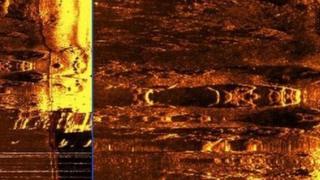 River Foyle sonar image