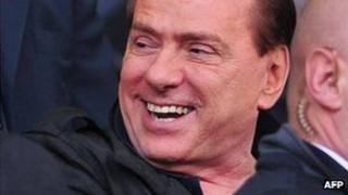 Former Italian Prime Minister Silvio Berlusconi. File photo