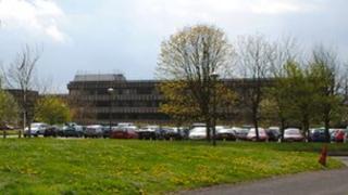 Police headquarters in Nettleham