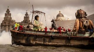 Giants on the River Mersey