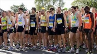Robin Hood Half Marathon 2011