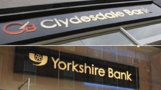 Clydesdale and Yorkshire signs