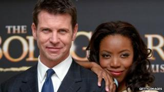 Lloyd Owen and Heather, stars of The Bodyguard