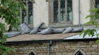 Thieves strip lead from church roof