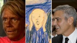 Patricia Krentcil, Munch's The Scream, George Clooney