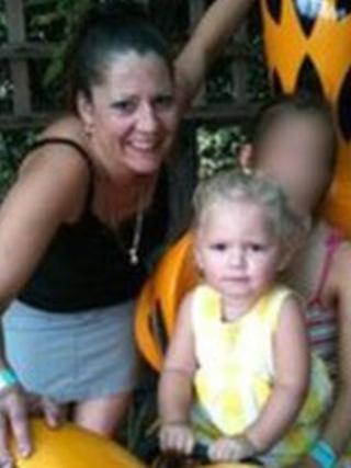 Christine Chambers and her daughter Shania