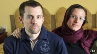 Shane Bauer and Sarah Shourd, file image from Iran, May 2010