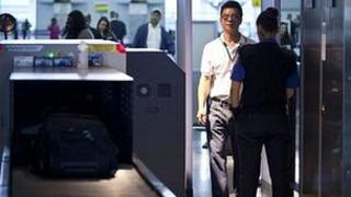 Security checks at John F. Kennedy Airport, New York. (File image)