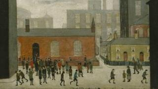 LS Lowry - Painting of Modern Life