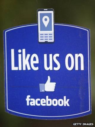 Facebook 'like' button logo