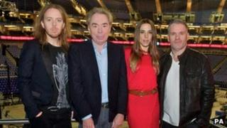 Minchin, Lloyd Webber, Chisholme and Moyles