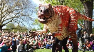 Erth's Dinosaur Petting Zoo (Photo: Joanna Millington)