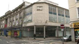 Co-op building in London Road, Brighton