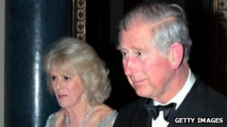 Camilla and Charles