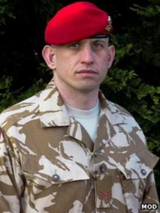 Sgt Ben Ross RMP