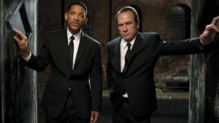 Will Smith and Tommy Lee Jones in Men In Black 3