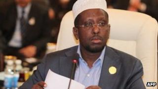 President Sheikh Sharif Sheikh Ahmed