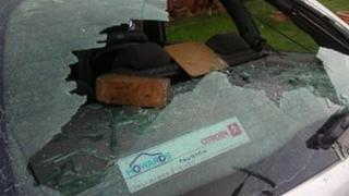 Car window smashed in Ashton Vale
