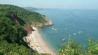 Oddicombe Beach