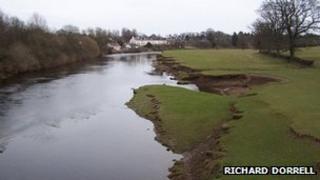 River Nith at Nunholm