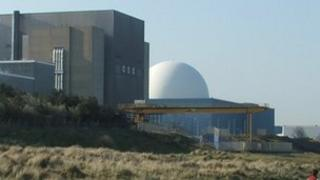Sizewell A and B nuclear power stations