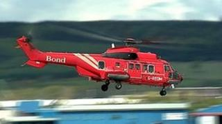 Bond helicopter