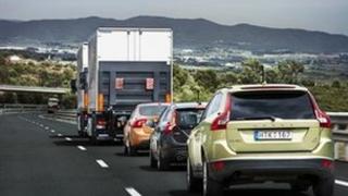 Volvo convoy, copyright Volvo