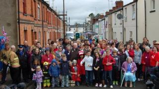 Residents of Rosehill Street, Cheltenham