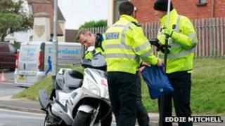 Accident in Lancing