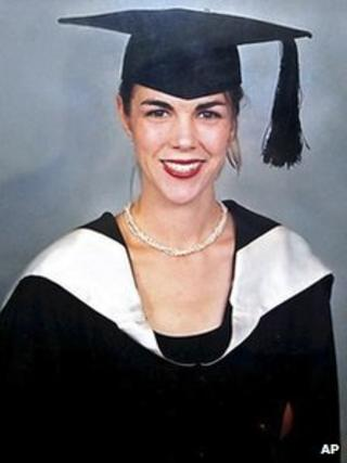 The ICC lawyer, Australian Melinda Taylor, in an undated photo provided by the International Criminal Court