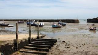 Folkestone fishing boats