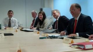Derby City Council cabinet meeting