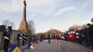 Cavell Gardens War Memorial in Inverness