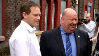 Grant Shapps and Joe Anderson