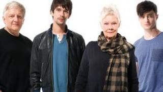 Simon Russell Beale, Ben Wishaw, Judi Dench and Daniel Radcliffe