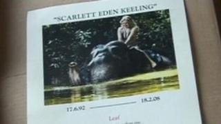Scarlett Keeling service sheet