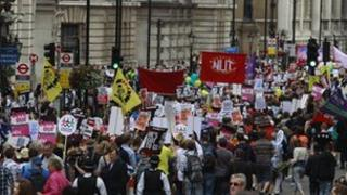 Striking public sector workers