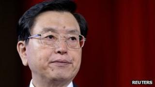 Zhang Dejiang, Chongqing municipality Communist Party secretary
