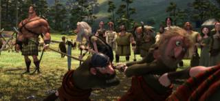 Scene from Brave the movie