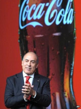 Muhtar Kent, chief executive, Coca-Cola