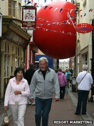 Red Ball in Weymouth