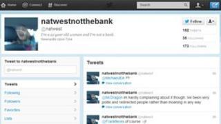 Natalie Westerman's Twitter account