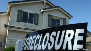 Stockton foreclosure sign